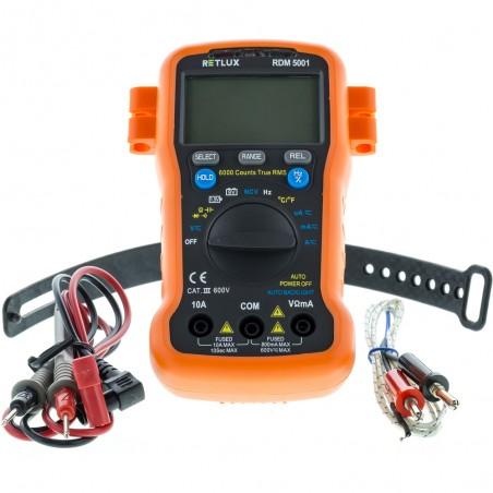 Retlux digitalni multimetar RDM 5001