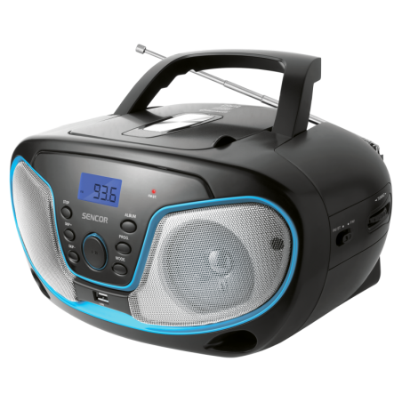 Sencor prijenosni radio SPT 3310 Bluetooth /CD/USB/AUX