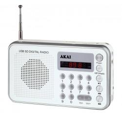 AKAI USB radio DR002A-521W